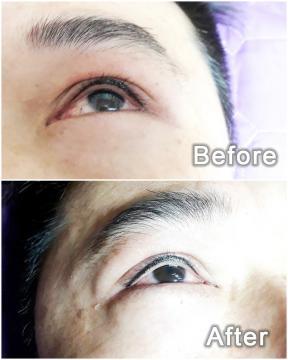 紋眼線 隱形眼線