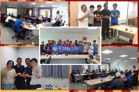 104年外籍勞工活動專區  104.10.03 名牌月會-中文訓練與<br>成果驗收